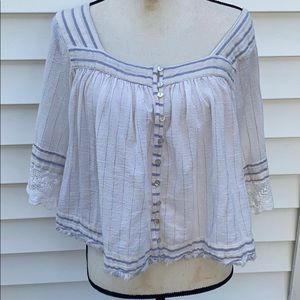 Free peaple beatiful blouse in great condition